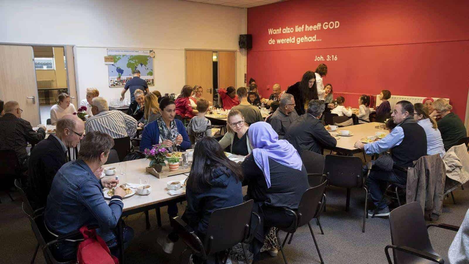 Arabische huiskerk groeide uit tot pioniersplek Zeist