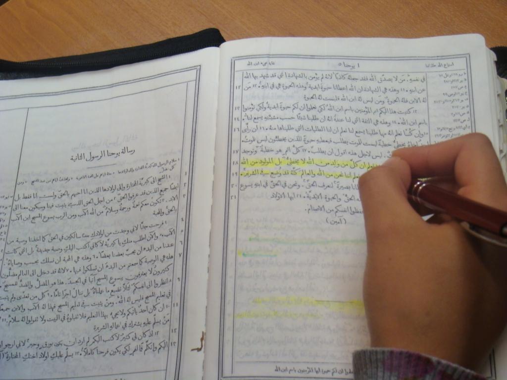 Arabische en Nederlandse christenen hebben zelfde verlangen!