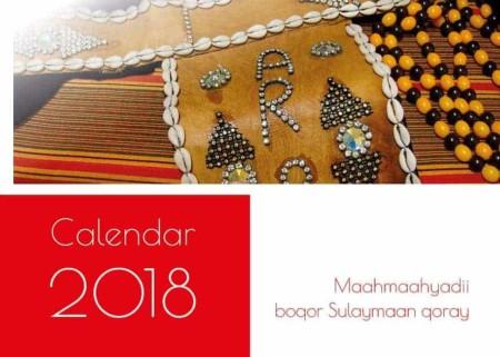 Somalische kalender 2018 - bijbelspreuken