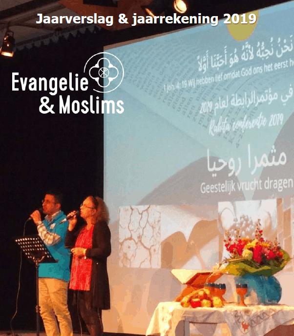 Jaarverslag en jaarrekening Evangelie & Moslims 2019 Voorpagina