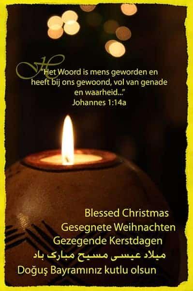 Kerstkaart Joh.1