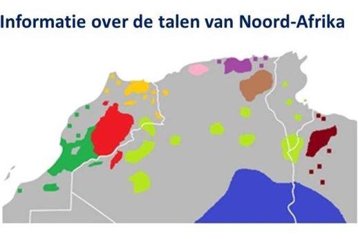 De talen van Noord-Afrika